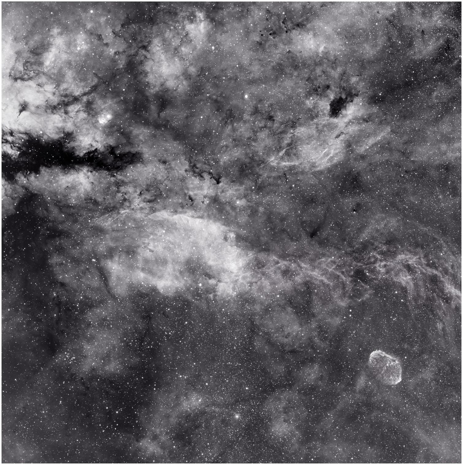 sh2 108 gamma cygni nebula. Black Bedroom Furniture Sets. Home Design Ideas